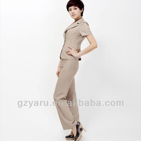 2013 formal women linen pants suit buy 2013 formal women