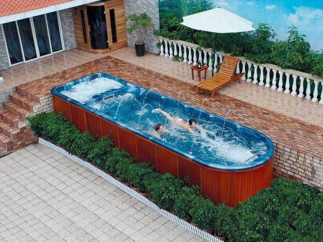 Fiberglass Swimming Pool Fs S08m Buy Fiberglass Swimming Pool Designs Acrylic Swimming Pool