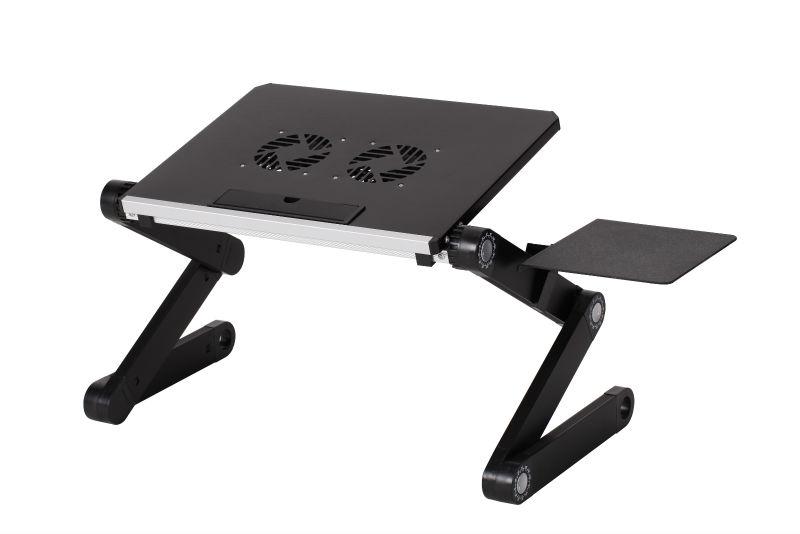 Notebook Adjustable Portable Stand Desk Table Foldable Sofa Black/Pink  Laptop
