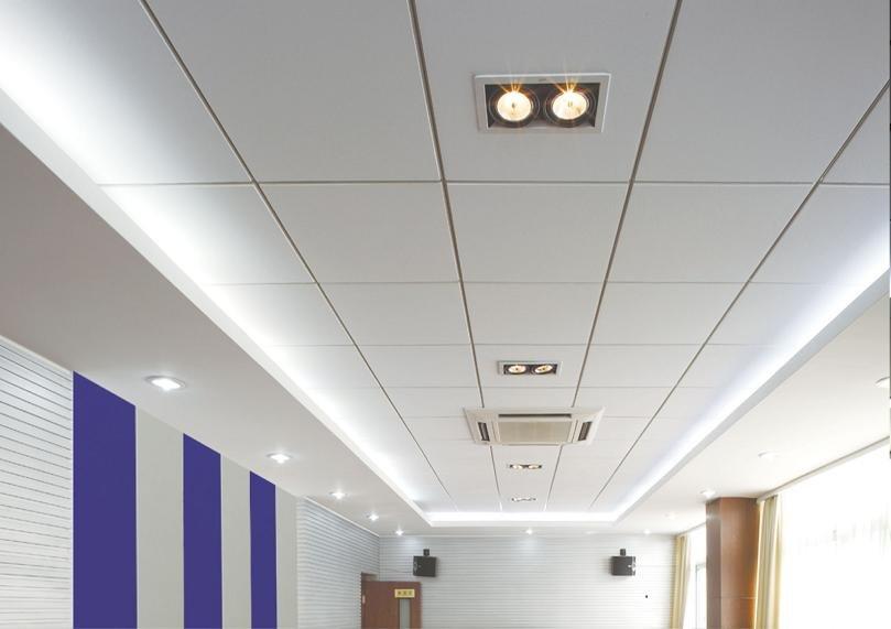 Fiberglass drop ceiling tiles