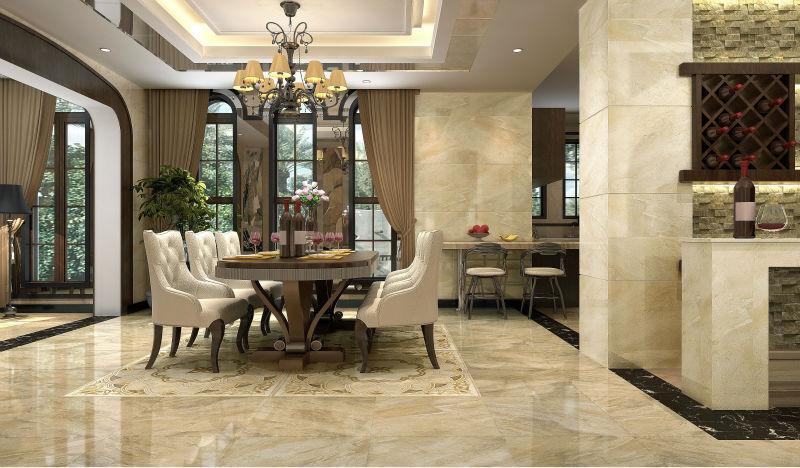 3d Porcelain Tiles Marble Look Cotto Tile Ceramic Floor