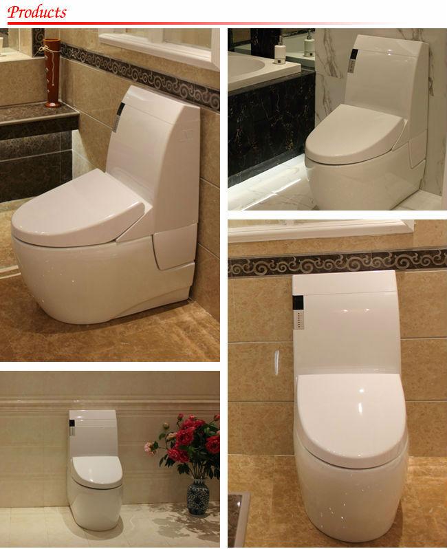 Sanitary Ware Ceramic Washdown Two Piece Toilet Auto