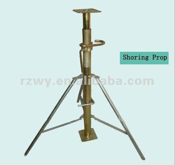 Shoring Prop Lb : Formwork shoring jacking tripod stand view