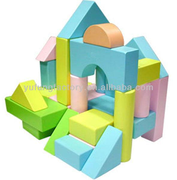 Eva foam building block large foam building blocks buy for Foam block house construction