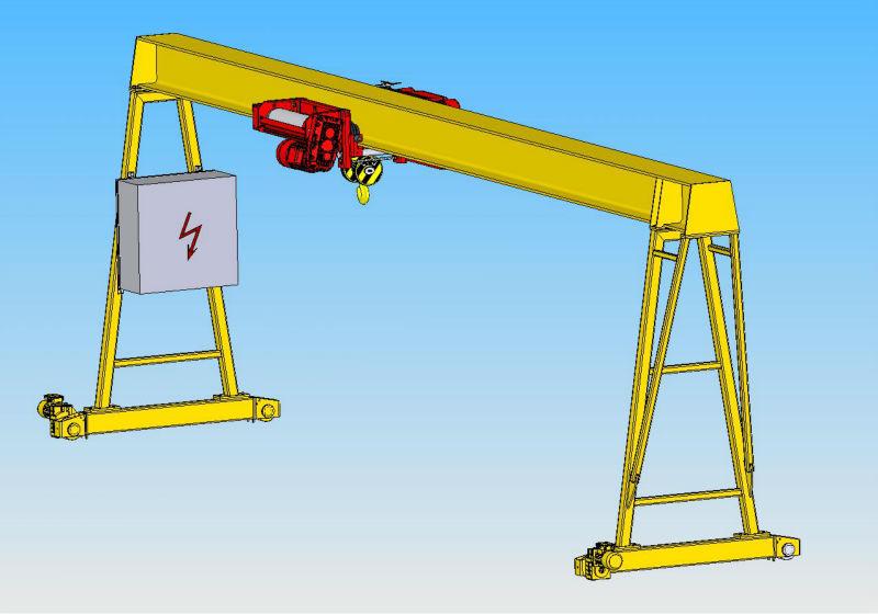 A Frame Ton Portable 10ton Gantry Crane Price Buy 10ton