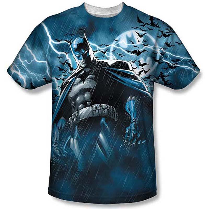 Wholesale 3d digital all over sublimation printing t shirt for Wholesale printing t shirts