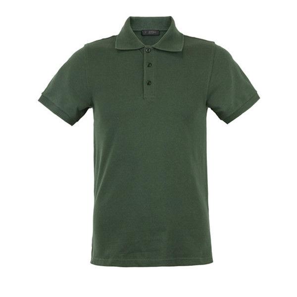 China custom made short sleeve polo shirt staff work for Work uniform polo shirts