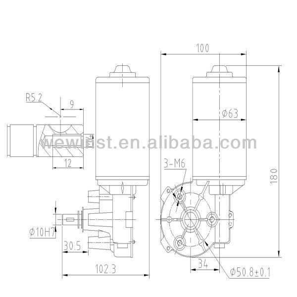 D63l 1245210 12v Dc Motor Specifications View 12v Dc