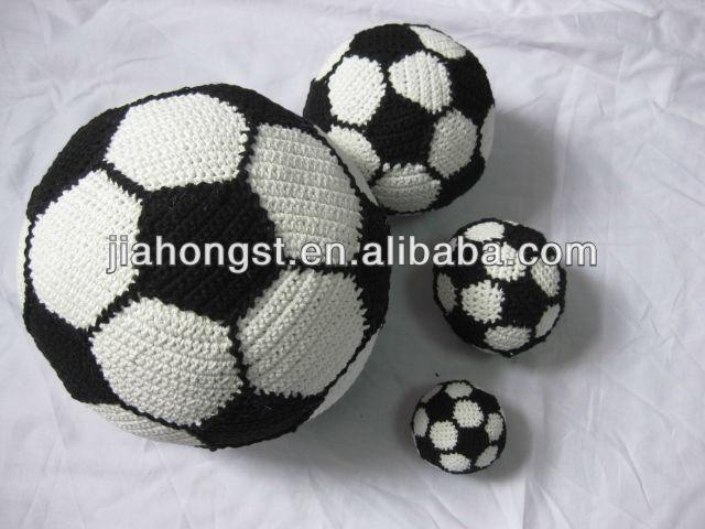 Handmade Crochet Stuffed Football Soccer Souvenir - Buy Crochet For Souvenirs...