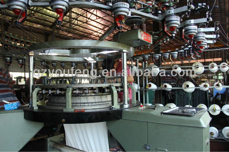 Underwear Knitting Machine : High speed computerized double jacquard hosiery underwear