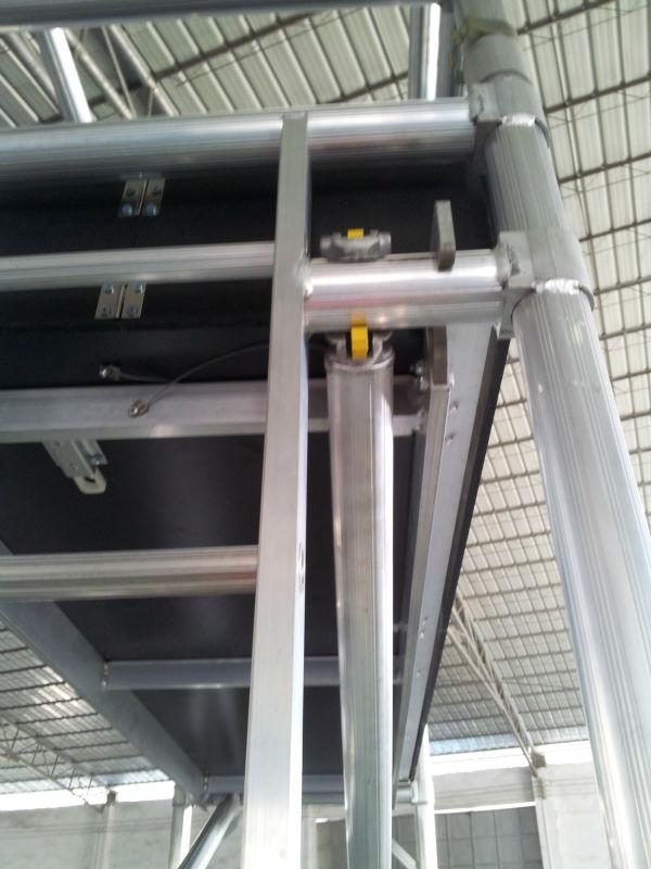 Aluminum Scaffold Product : Aluminium scaffolding used scaffold tower for