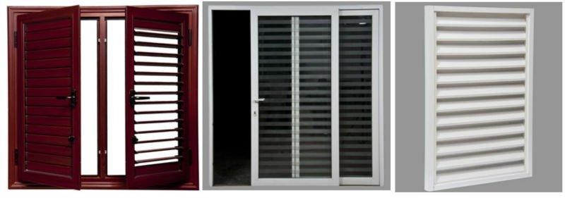 Pvc window blinds casement blinds pvc upvc aluminum for Blinds for upvc patio doors