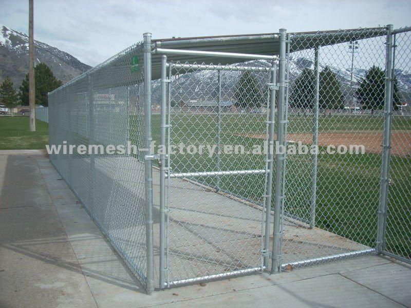 hot dip galvanized chain link wire mesh fence hebei