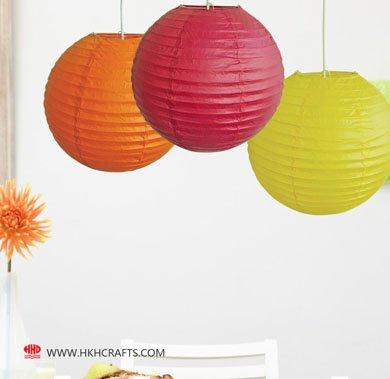 Handmade flower shape paper lamp shade for home decor - Flower shaped lamp shades ...