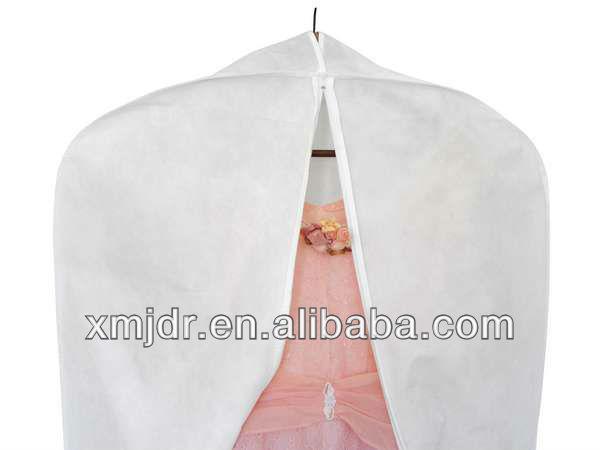 high quality breathable wedding dress garment bag wholesale view garment bag jdr product. Black Bedroom Furniture Sets. Home Design Ideas