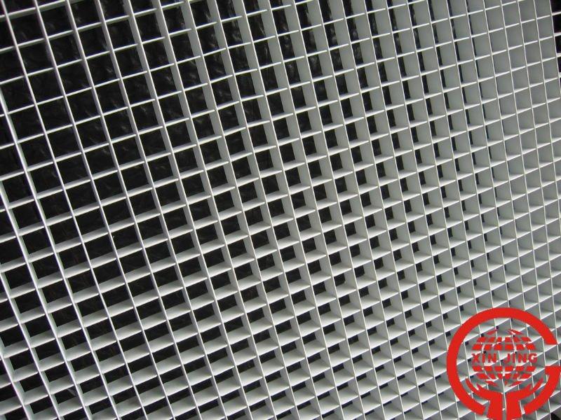 Aluminum Brushed Laminate Grid Ceiling Buy Aluminum