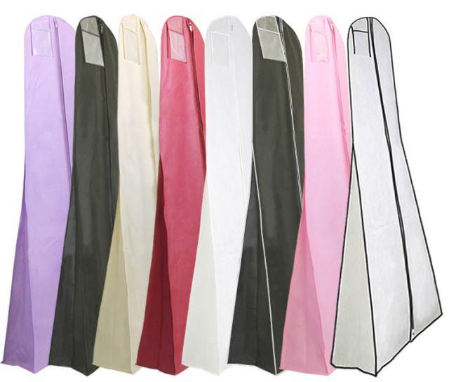Natural canvas shoulder covers shoulder wedding dress for Wedding dress garment bag for air travel