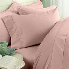 Solid dyed cotton sateen bedding fabric for home and hotels