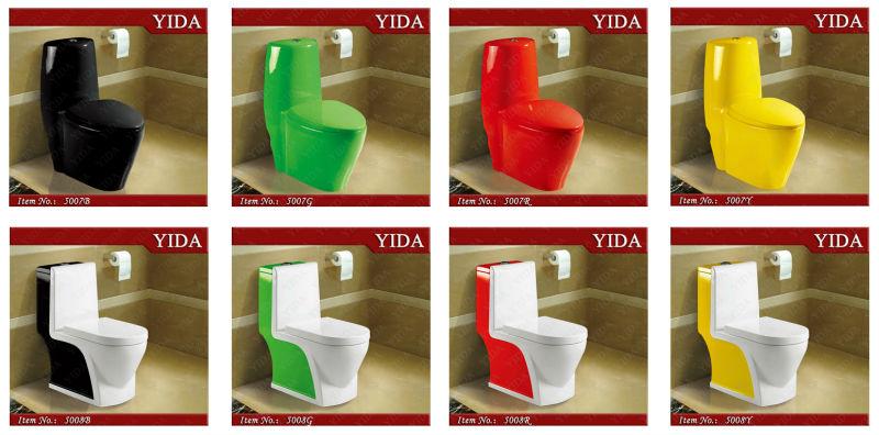Rouge couleur toilettes et couleur toilettes bol pour - Sanitarios de colores ...