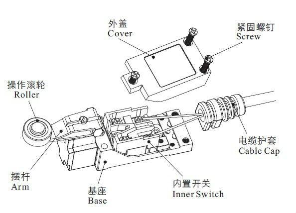pull cord switch xz me8108  az8108  honeywell micro