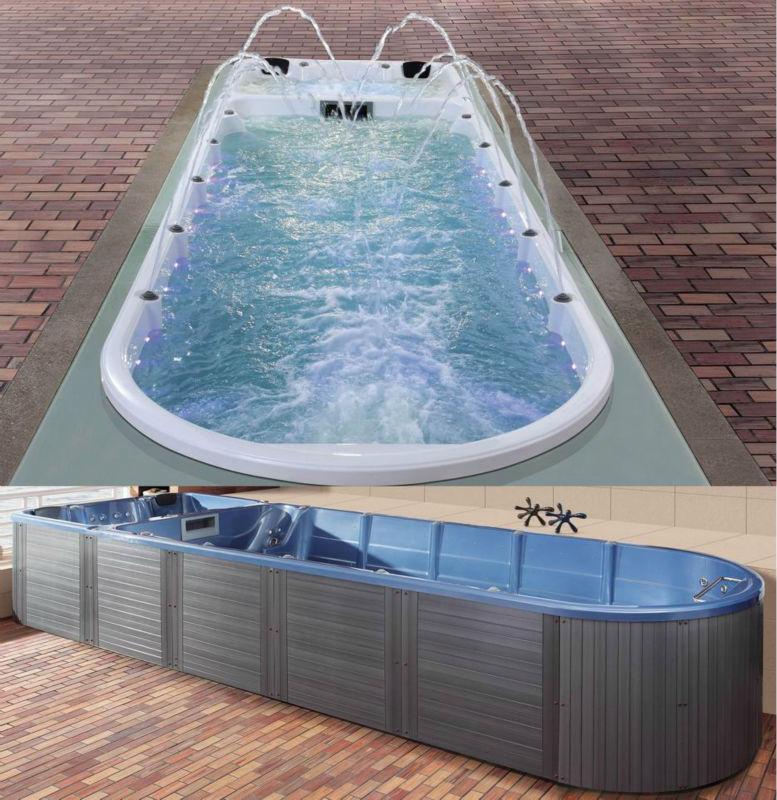 3 8 Meter Swim Spa Fs Pc08 Inground Endless Pool View Swim Spa Fspa Mexda Product Details