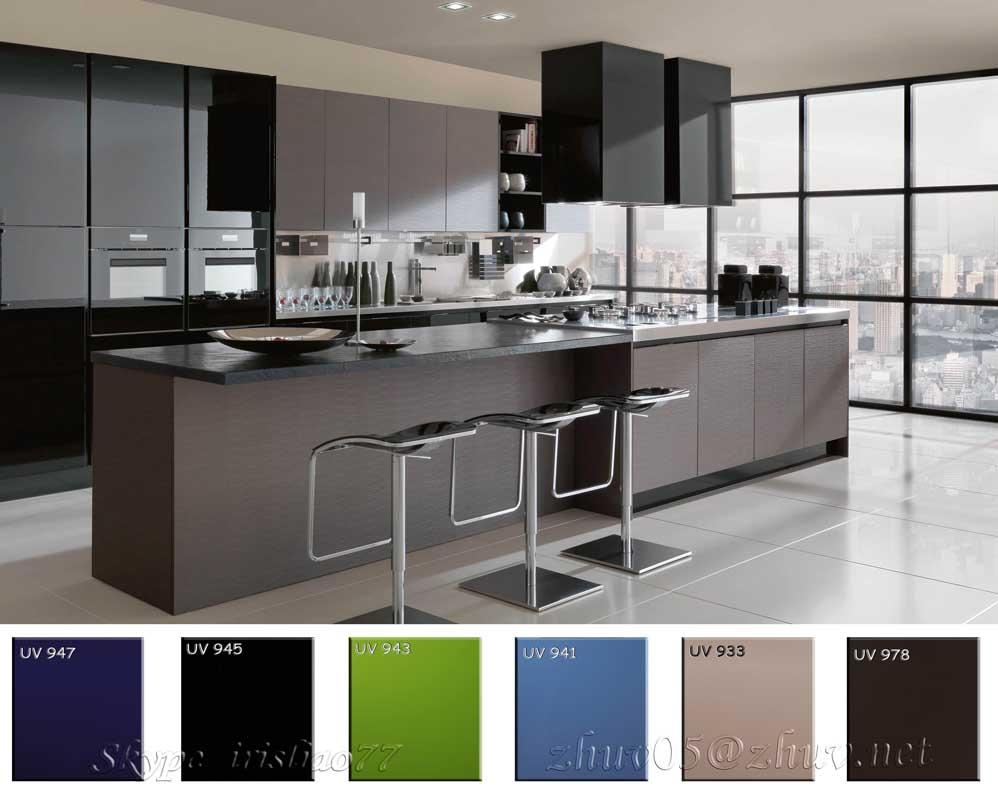 White high gloss acrylic mdf board buy high gloss mdf for Gabinetes de cocina en mdf