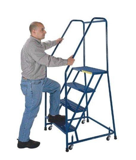 Yd 062 Steel Step Ladder With Four Wheel Buy Steel Step