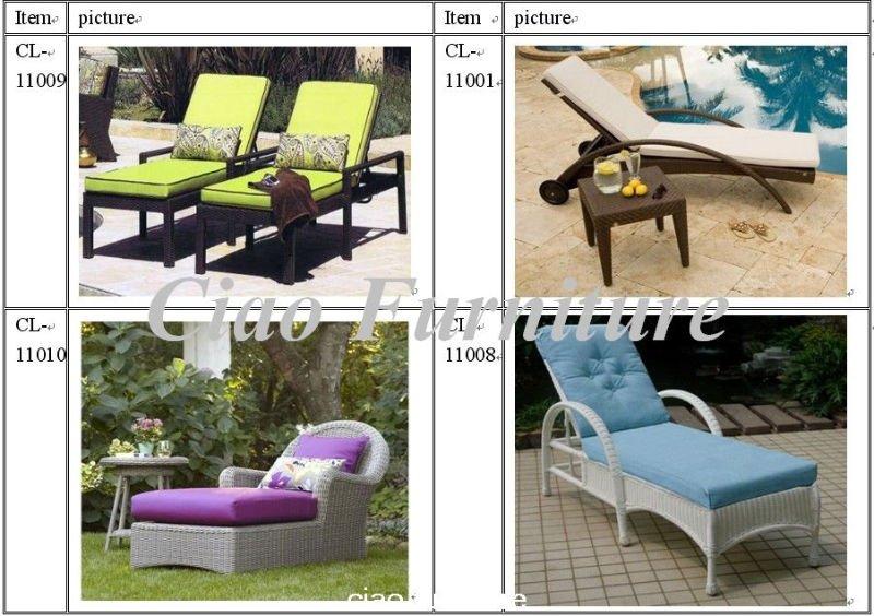 H leisure rattan chaise longuecf764l buy rattan for Chaise longue rattan sintetico