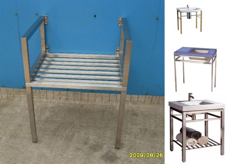 In acciaio inox lavello console lavello base sanitari for Base para lavadero