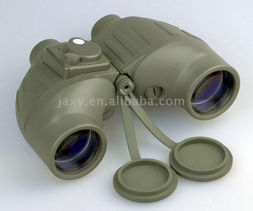 how to use rangefinder binoculars