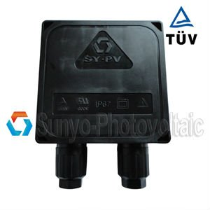 Solar Panel PV Junction Box Profesional Grade Diodes, IP67