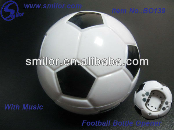 Football Bottle Opener with Music;Sound Bottle Opener