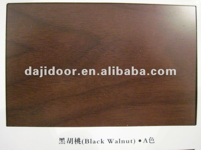 Luxury European oval glass entry doors wood door DJ-S9302MSTHS-8