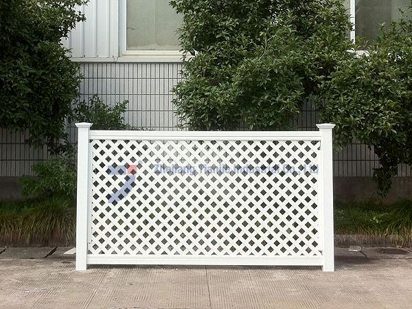 Professional manufacturing high quality plastic lattice for Using lattice as fencing