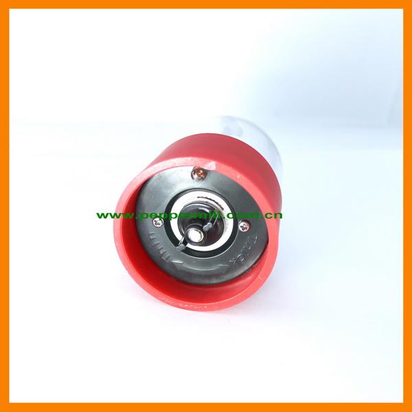 Colorful Ceramic Salt And Pepper Grinder Electric Plastic