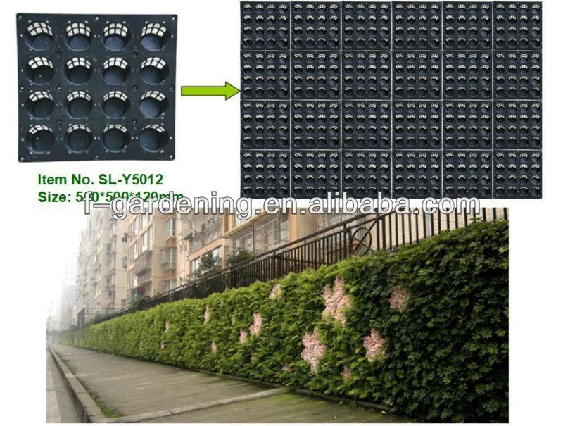 Exterior decorative vertical garden green wall system for Vertical green wall