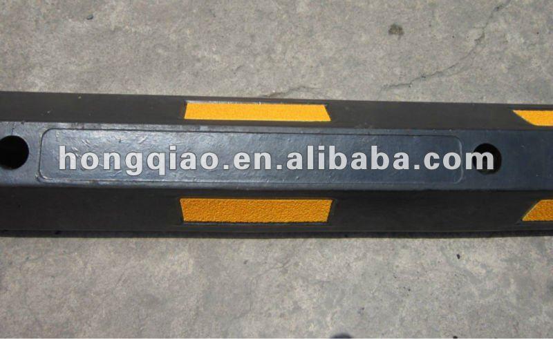 Trade assurance 165cm rubber wheel stopper car stopper for Assurance voiture garage parking
