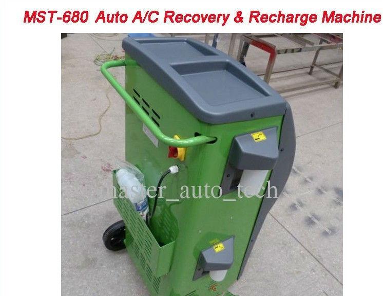 auto a c recovery machine