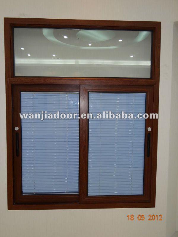 Wj new design window blind window shutters jalousie for Jalousie window design