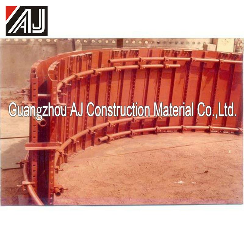 Round Shuttering Plates : Adjustable steel circular formwork round modular