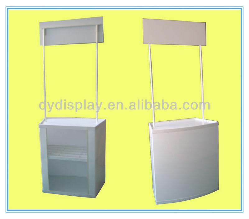 supermarket promotion plastic portable promotional counter table buy reception desk abs. Black Bedroom Furniture Sets. Home Design Ideas