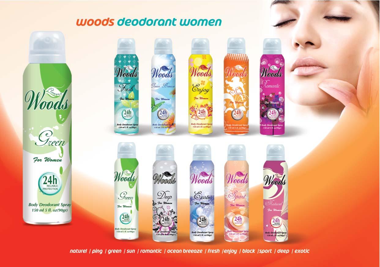 Deodorant Body Spray For Women Men
