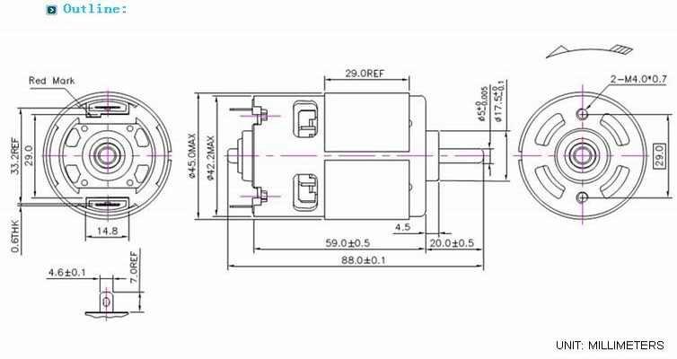Permanent magnet dc motor for juicer food blender view - Licuadora philips juicer ...