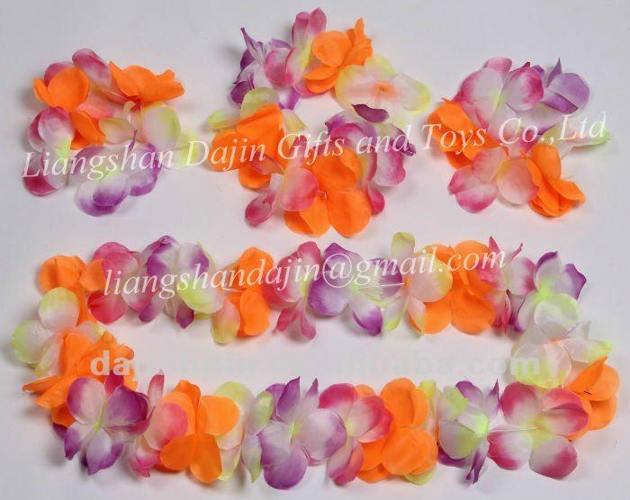 Artificial Hawaiian Flower Lei Set Buy Artificial Flower