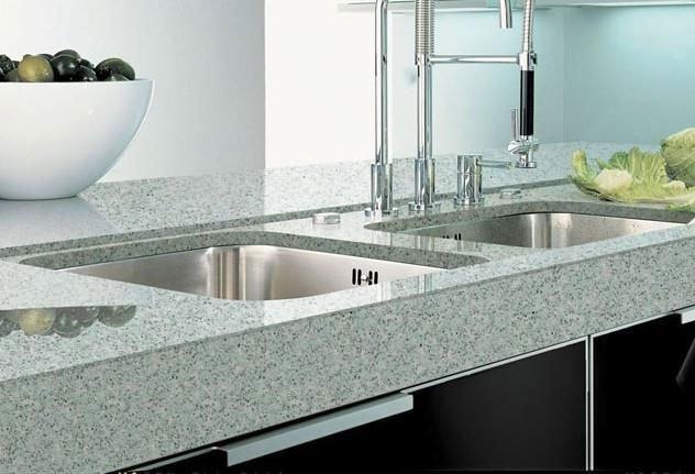 white quartz stone engineered stone dining table top quartz