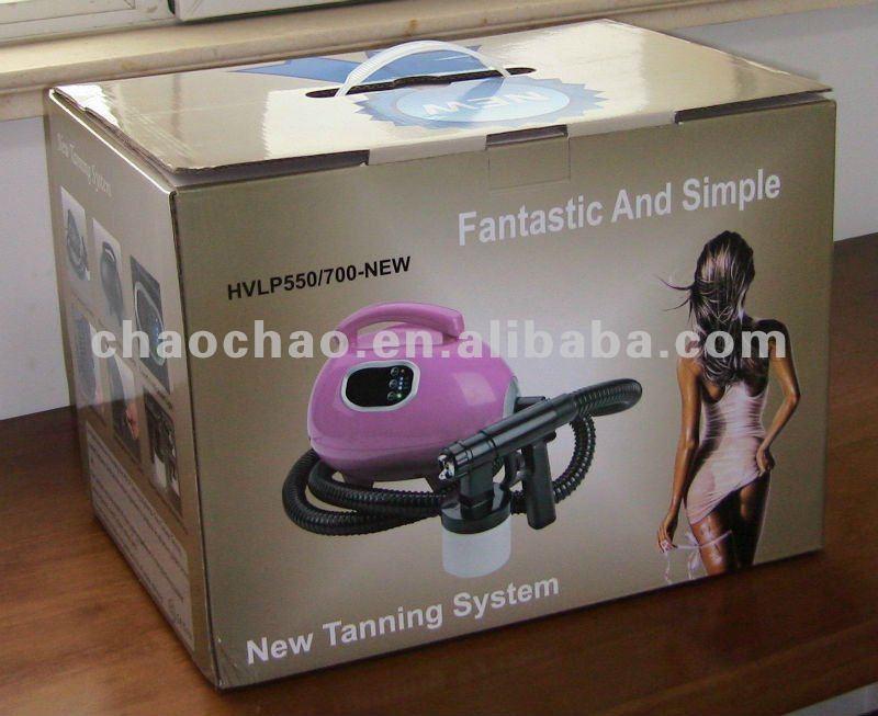 self spray tanning machine