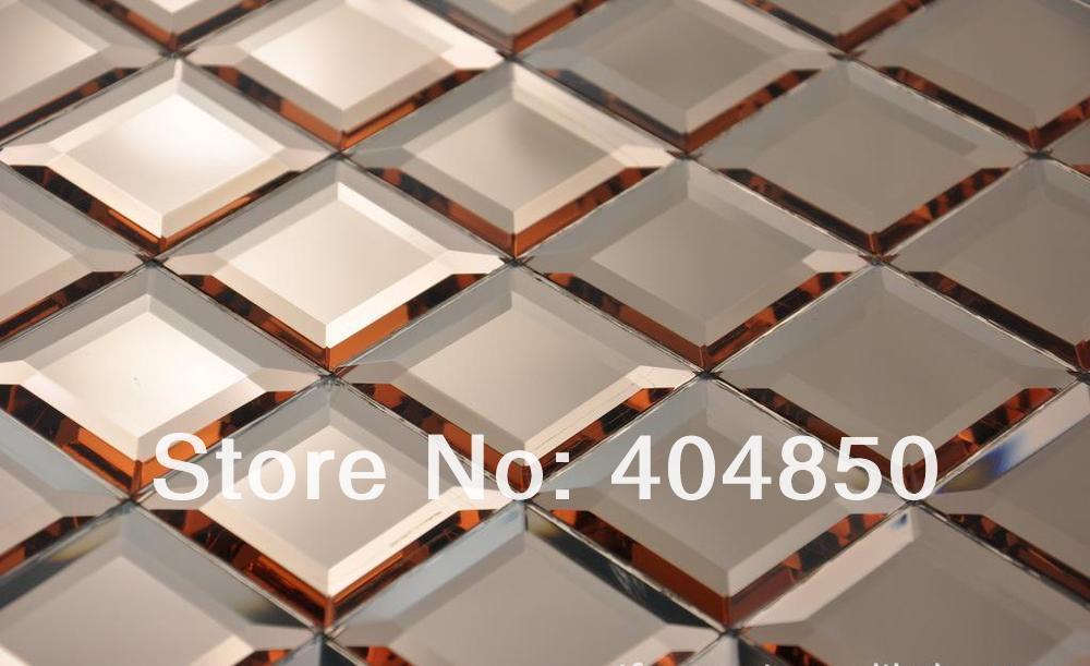12x12 Inch Colorful Diamond Faceted Home Decor Backsplash