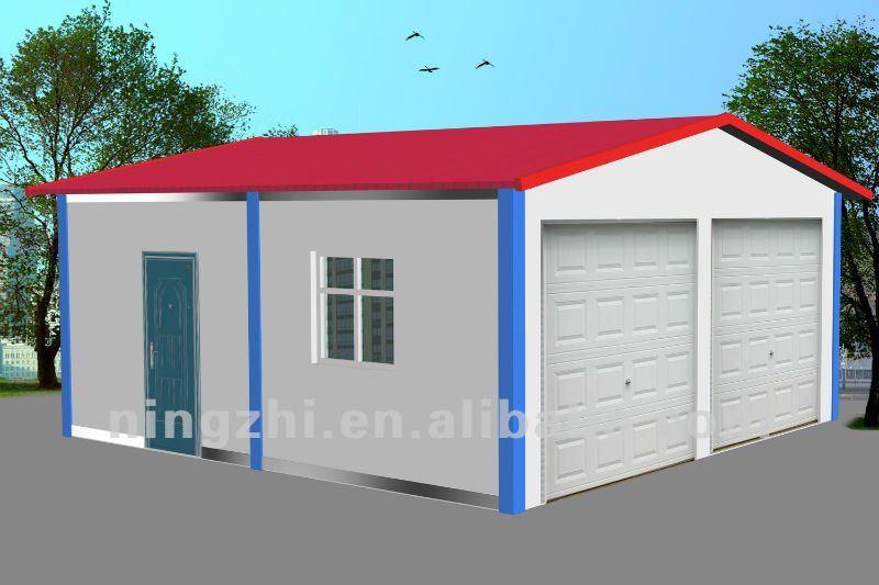 Low cost prefab garage view prefab garage ningzhi for Low cost garage