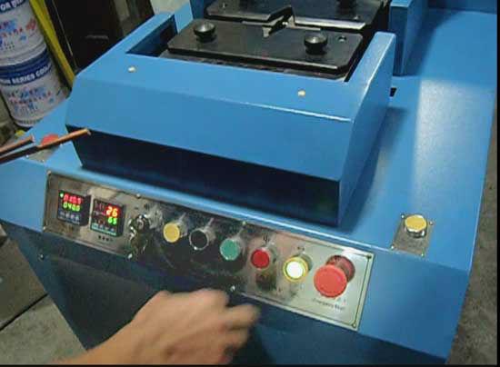 8mm Copper rod cold welding machine / copper wire hydraulic ...