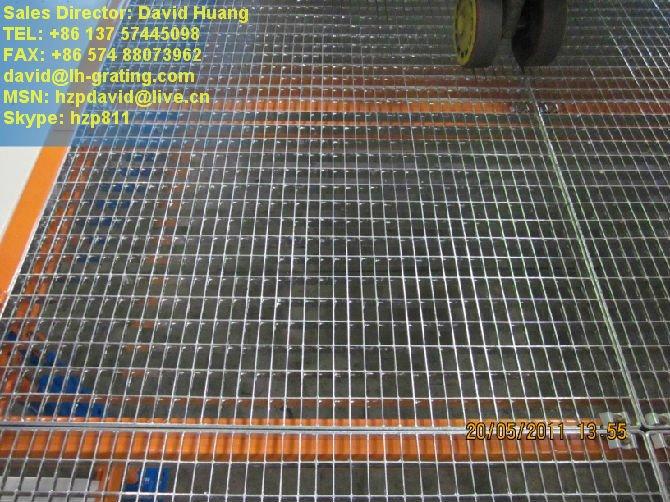 galvanized platform grating galvanised platform steel. Black Bedroom Furniture Sets. Home Design Ideas